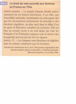 droit de vote des femmes 1944 manuel hist g o cap foucher blog de mmeassaad. Black Bedroom Furniture Sets. Home Design Ideas